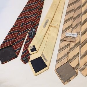 Lot of Ties: Burberry & Armani